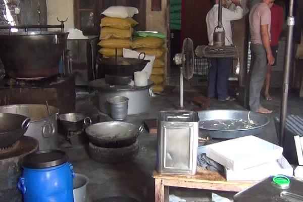 barnala  patiasa factory  health department  raid