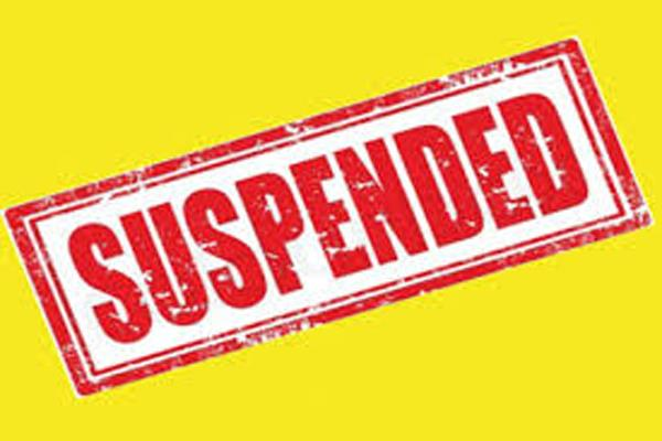 police officers suspended