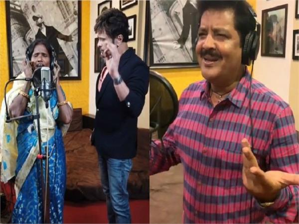 ranu mondal records new fourth song with udit narayan