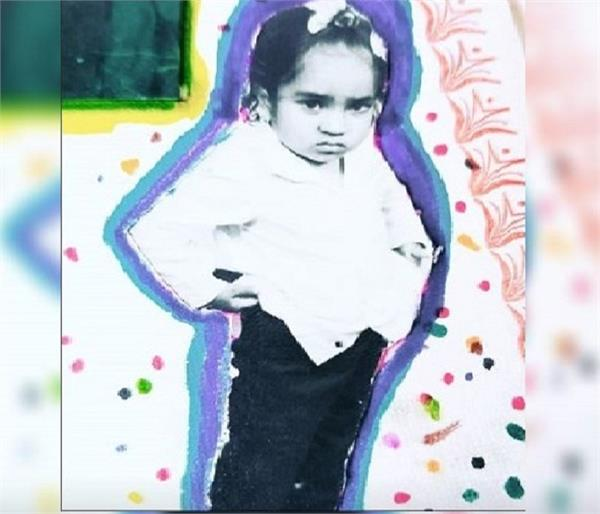 rana ranbir childhood picture throwback punjabi actor