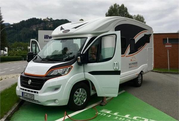 worlds first electric motorhome