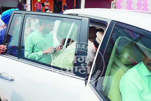 bathinda police officer parkash singh badal
