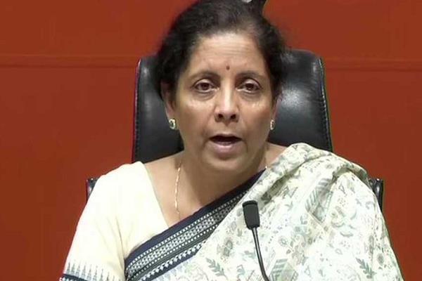 finance minister nirmala sitharaman press conference