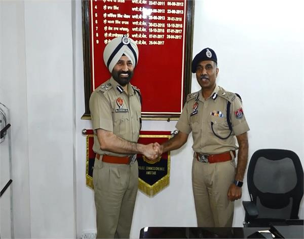 amritsar  dr sukhchain singh  commissioner