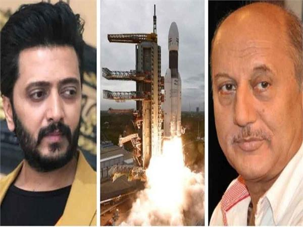 chandrayaan 2 landing bollywood celebs share their excitement over social media