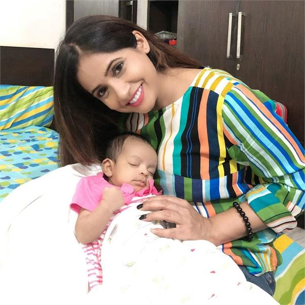 miss pooja shared a pic her cute niece on instagram accoun