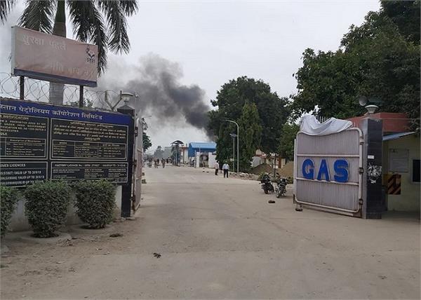 unnao accident hindustan petroleum tank explosion