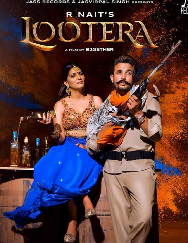 r nait lootera sapna choudhary poster