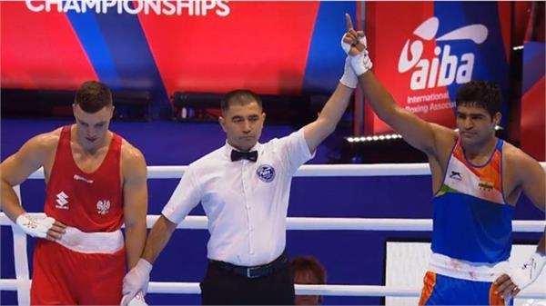 brijesh yadav win in world boxing championship