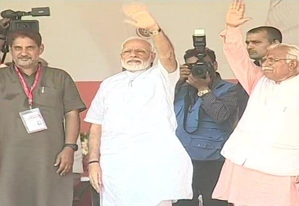 pm modi to start bjps campaign at rohtak rally in haryana