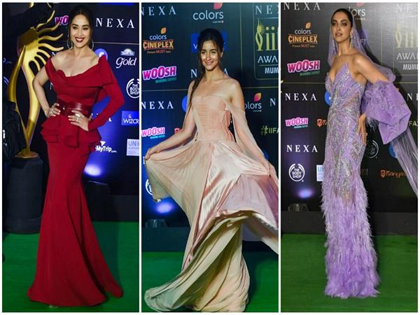bollywood divas glam up iifa awards 2019