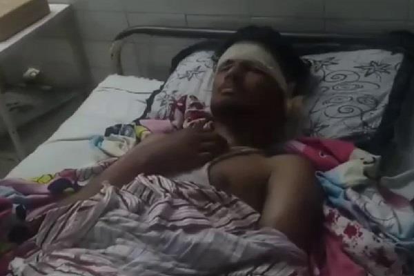 sangrur young beaten