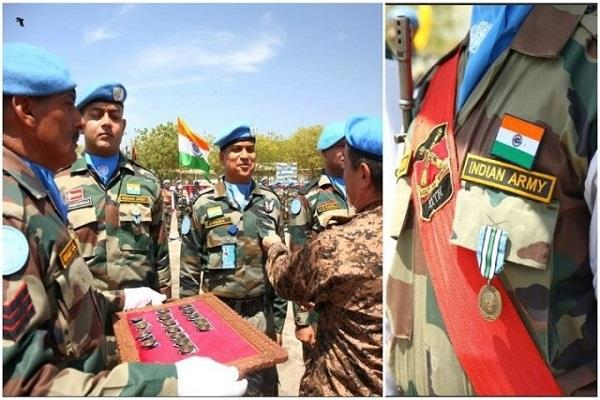 united nations  17 indian peacekeepers