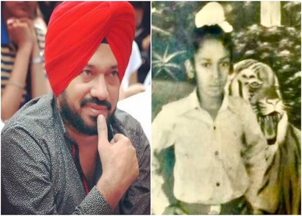 gurpreet ghuggi childhood picture throwback punjabi star