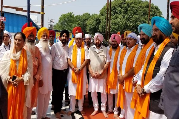 channi and randhawa members coordination committee captain amarinder singh