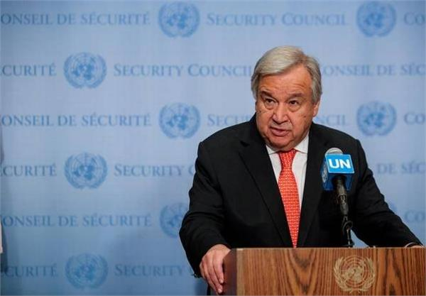 un chief wants india  pak to resolve kashmir issue through dialogue