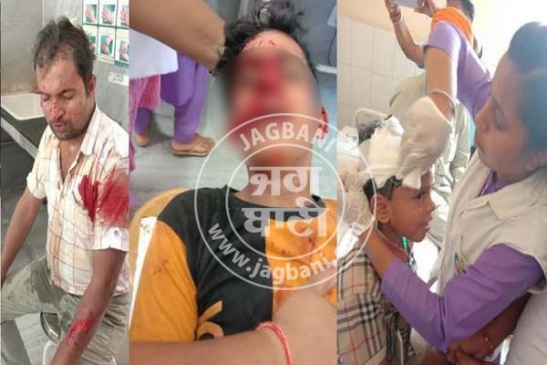 tapa mandi  chota hathi collision  8 injured