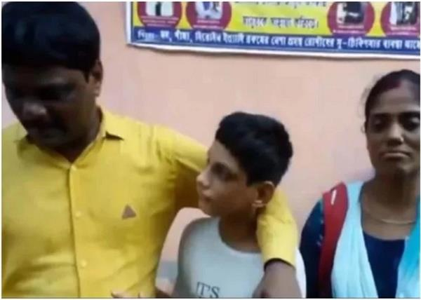boy missing seen in tv news bulletin