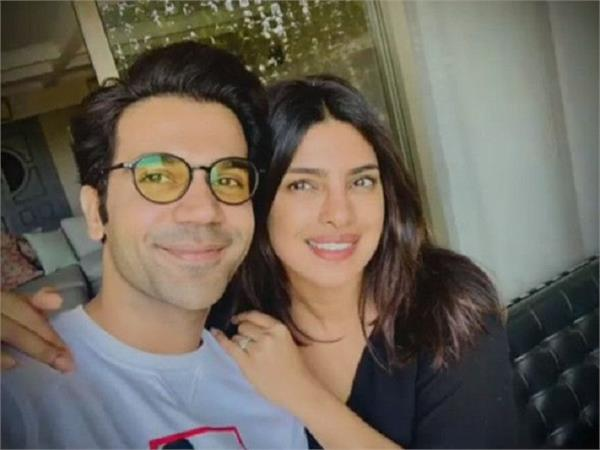 priyanka and rajkummar start prep for  white tiger