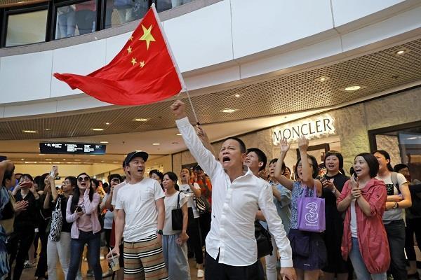 hong kong  fireworks denied