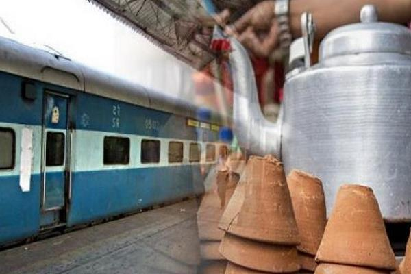 tea  lassi to be found in mud muds  glass at 400 railway stations