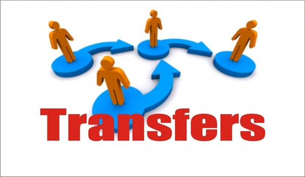 transfer of 11 inspector  4 sub inspector and 2 asi