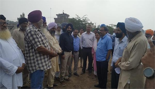 central team  sultanpur lodhi  floods  damage