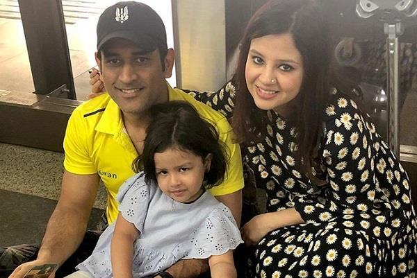 sakshi  s big statement on news of dhoni  s retirement