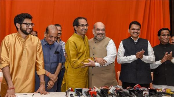 bjp shiv sena finalise alliance for maharashtra assembly elections
