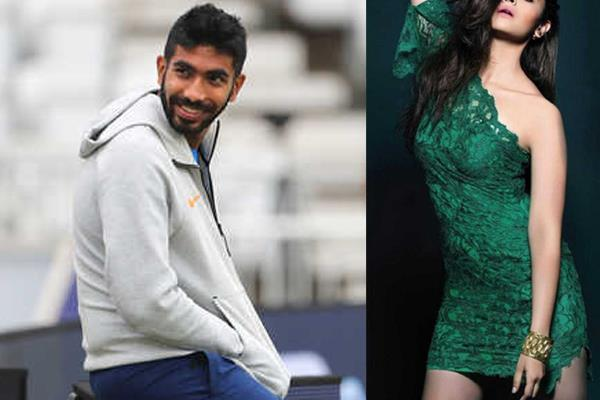 no deepika  this actress is a fan of indian bowler jaspreet bumrah