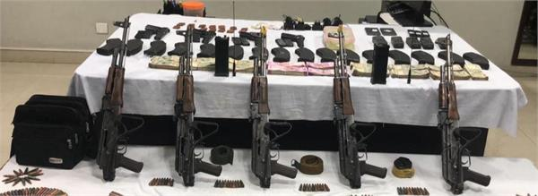 4 terrorists arrested with weapons