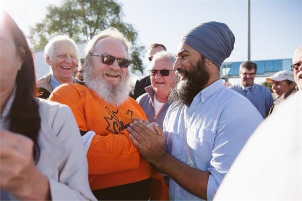 best moment to meet the   great beards    jagmeet