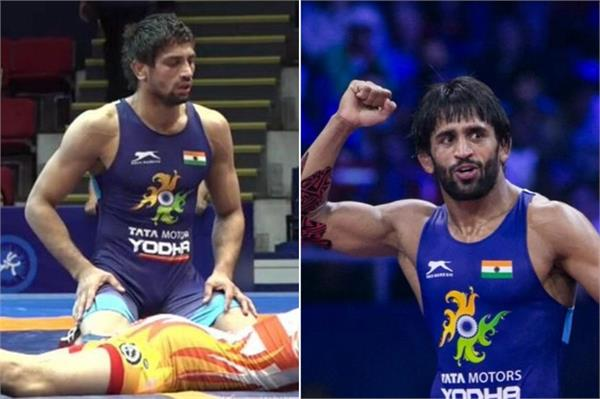 bajrang and ravi won bronze medal at the world wrestling champion