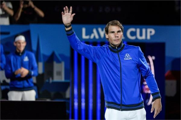 nadal retired from lever cup due to hand injury