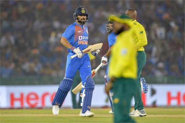 ind v sa 2nd t20 india beat africa by 7 wickets