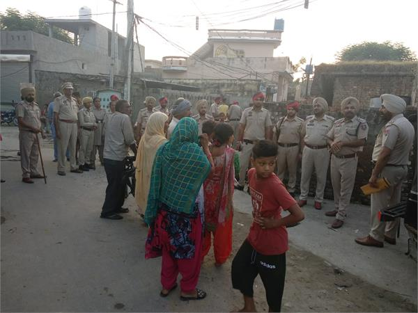 jalandhar rural police again village kangra for controlling drug smugglers