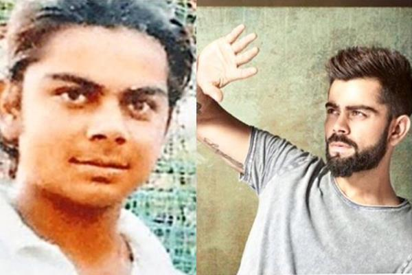 when virat kohli shared a 16 year old picture