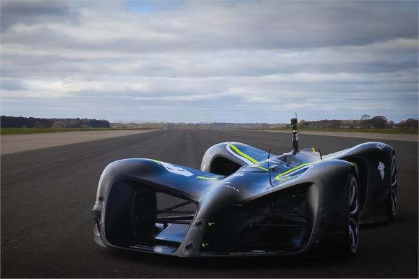 automatic car made speed record