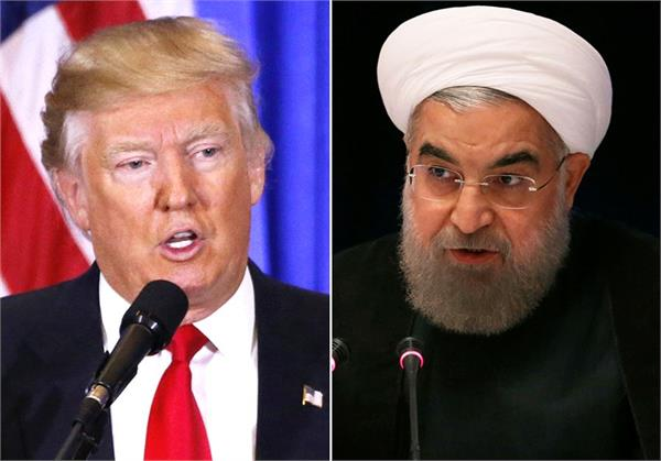 will not have ruhani and trump   iran