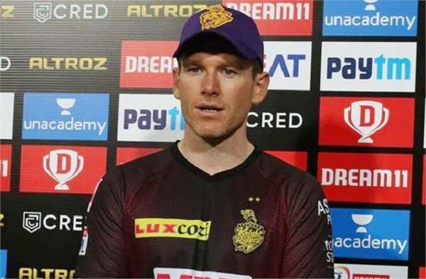 eoin morgan said the team made a mistake during the match
