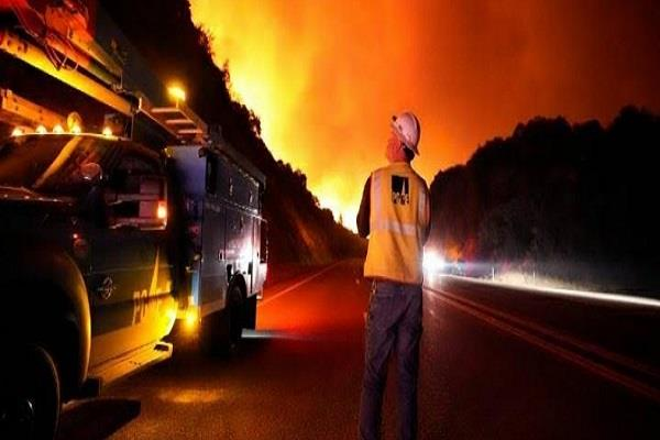 usa wildfire long electricity cut