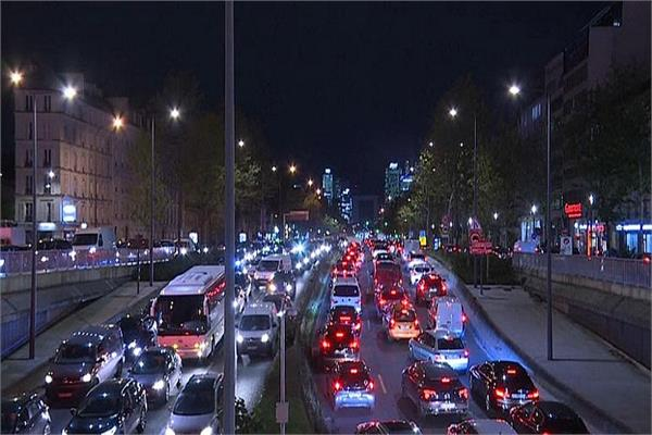 700 km jammed in paris before the lockdown  see pictures