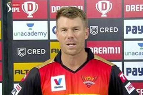 kings xi punjab  sunrisers hyderabad  david warner