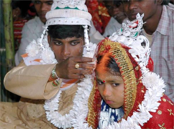 age of marriage of girls