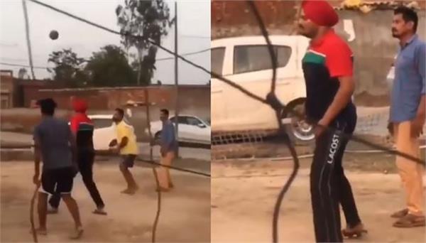 sidhu moose wala  village boys video has gone viral
