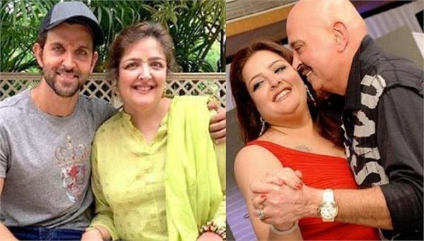 hrithik roshan and mother pinkie roshan