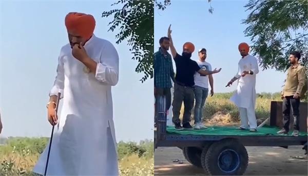 sidhu moosewala video viral on social media