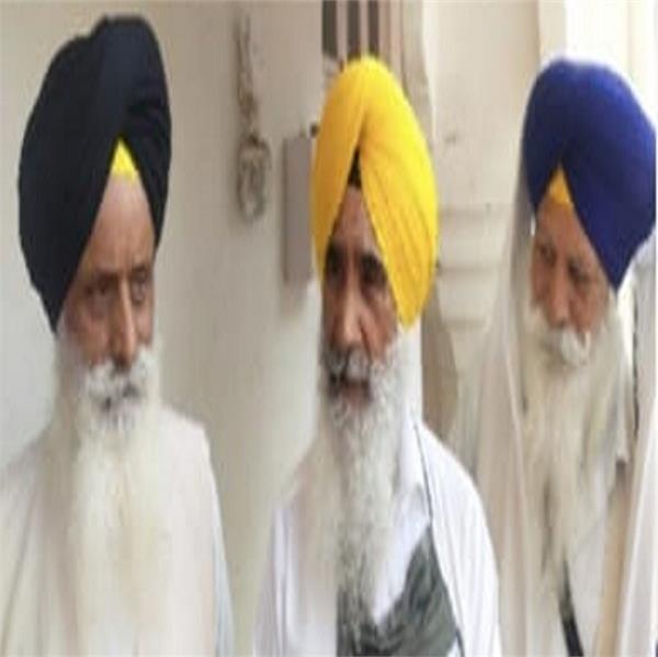 amritsar  shiromani committee  jathedar seva singh sekhwan