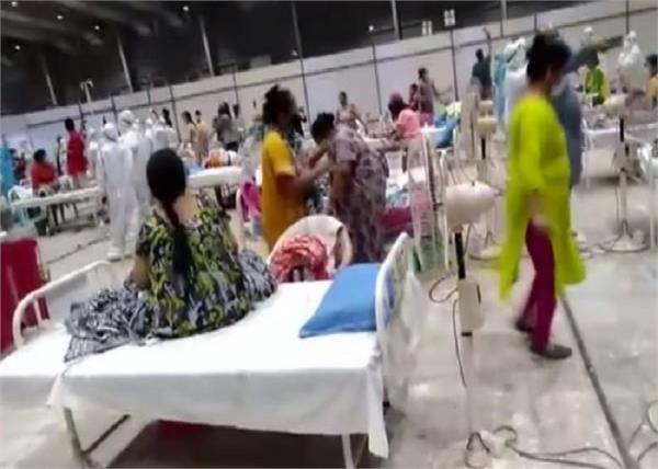 mumbai covid 19 center garba dance video viral