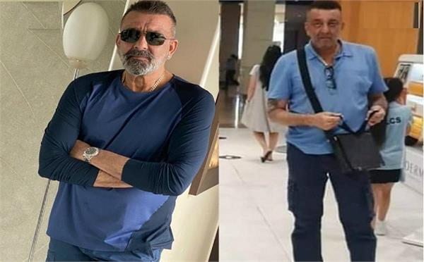 bollywood actor sanjay dutt pictures viral on social media